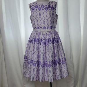 Gymboree Floral Lattice Dress